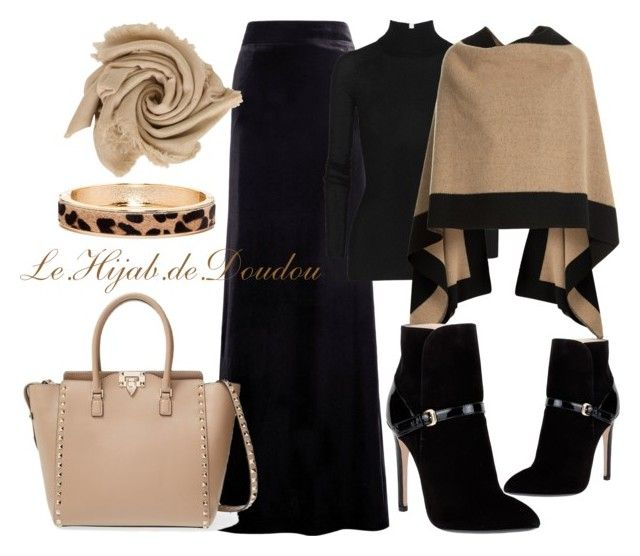Hijab Outfit by le-hijab-de-doudou on Polyvore featuring T By Alexander Wang, Burberry, Emilio Pucci, Valentino, The Limited, women's clothing, women's fashion, women, female and woman