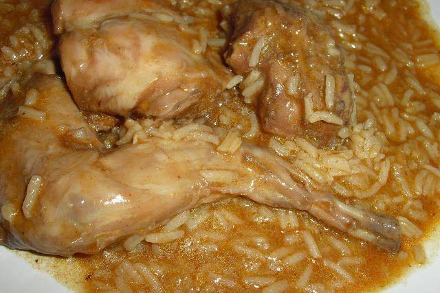 Receitas práticas de culinária: Coelho guisado com arroz