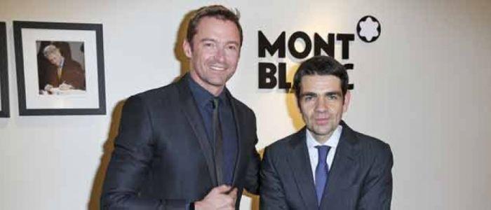 Hugn Jackman, embajador de Montblanc El actor de cine y teatro australiano aparecerá en la próxima campaña publicitaria de la marca a nivel internacional.