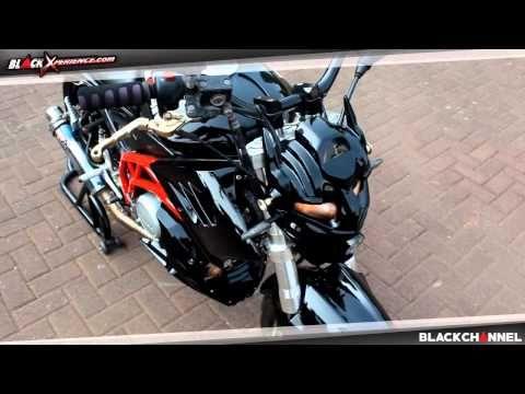 Modifikasi Motor Yamaha Vixion 2010 Street Fighter Transformer