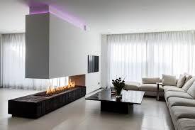 ideeën voor een woonkamer met openhaard - Google Search
