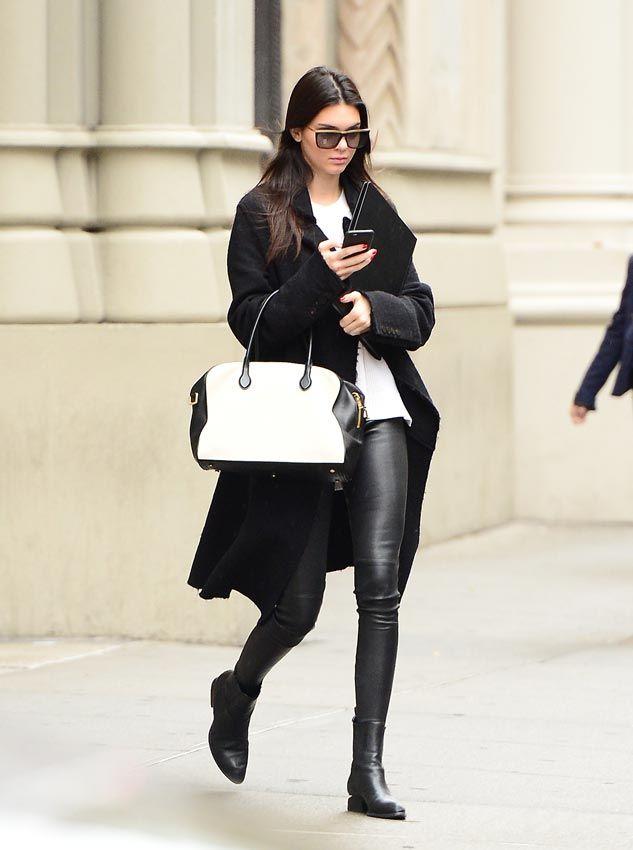 Pantalones de cuero: 15 estilos, 15 'looks'