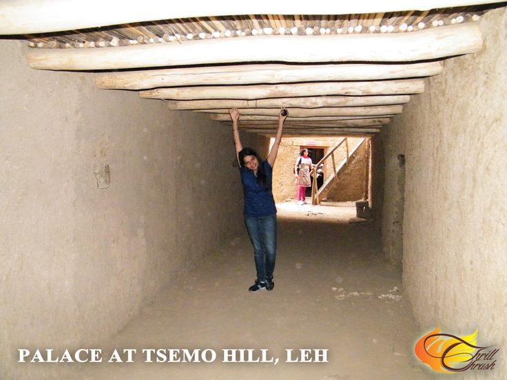 Leh Palace @ Tsemo Hill, Leh  Yes!! This is the corridor. And the ceiling is so low that I could even touch it. :D :P  #ThrillThrush #MangoTraveler #TravelBreak #BeTraveler #AmazingPlacesToVisit #LP #livingthedream #beautiful #StayAndWander #Glove_Travel #TravelSnaps #LoveTheWorld #travelblogger #TBEX #TBU #GirlAroundWorld #GirlsWhoTravel #FemaleTravelBloggers #TravelGirl #Leh #TsemoHill #LehPalace #postcardsfromtheworld #writetotravel #travelwriter #igersoftheday #yahootravelexplorers