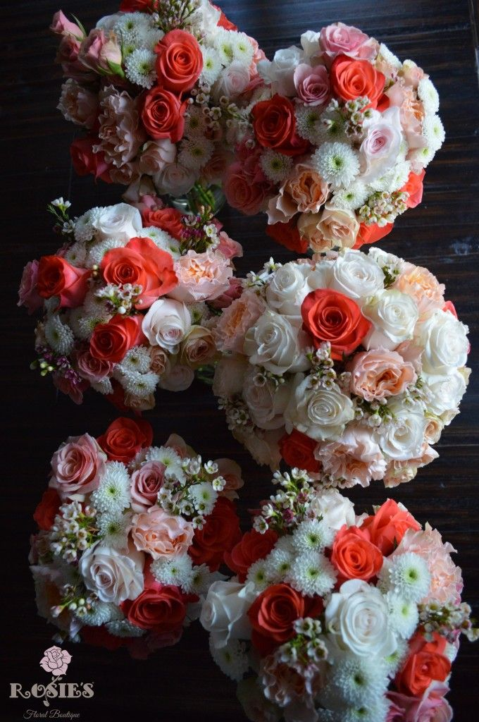 154 best aylor's wedding-coral & cream images on pinterest