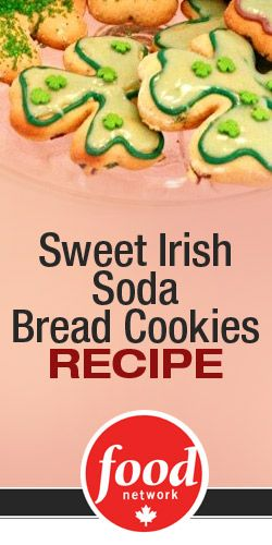 Sweet Irish Soda Bread #Cookies #Recipe in Time for St. Patrick's Day!