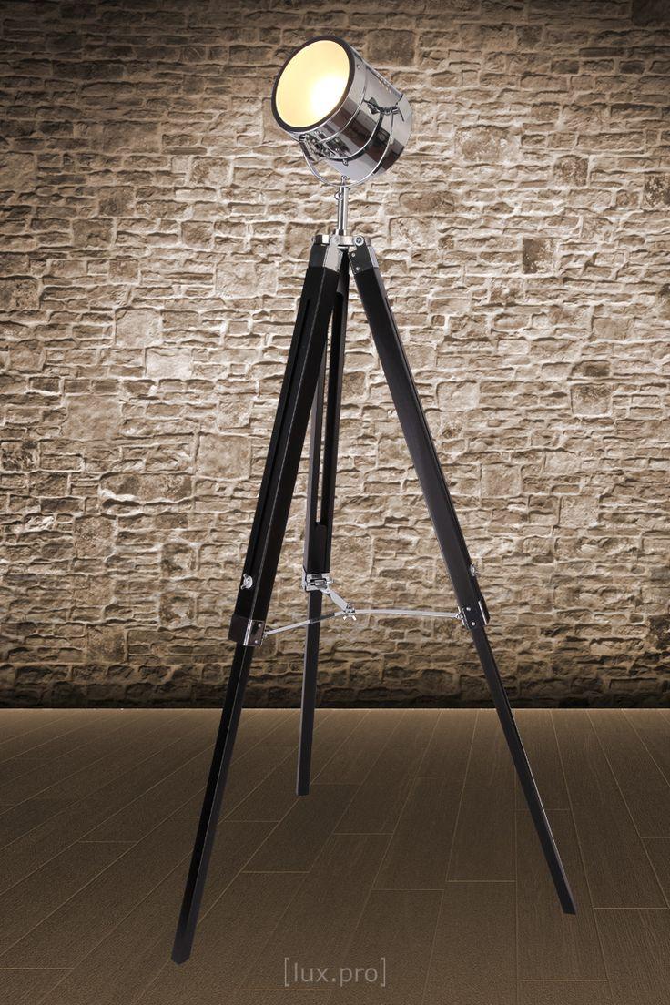 Studio stehleuchte stehlampe film scheinwerfer lampe standleuchte leuchte in möbel wohnen beleuchtung