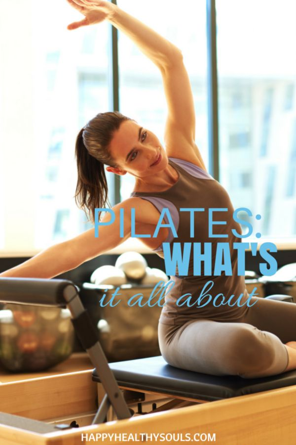 You hear about the amazing results your friends got, you see all the cool pictures and the hip old ladies go into the studio but do you really know what pilates is? On the blog now: Pilates: What's is all about // http://www.happyhealthysouls.com/fitness/pilates-what-is-it-all-about   #happyhealthysouls #pilates #tips #exercise #fitness #yoga #workout