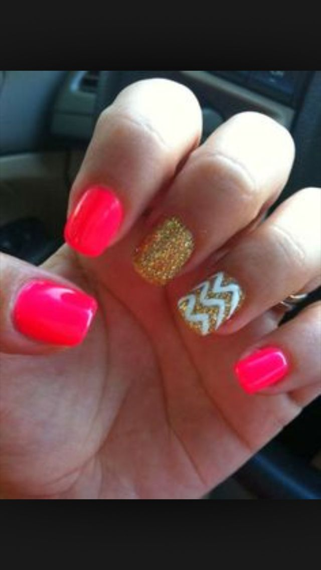 Cute nails for summer!!!!!☀️⛅️