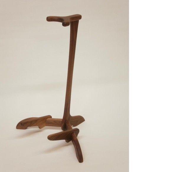 銘木 木製ギタースタンド