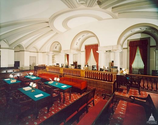 Old US Supreme Court Chamber