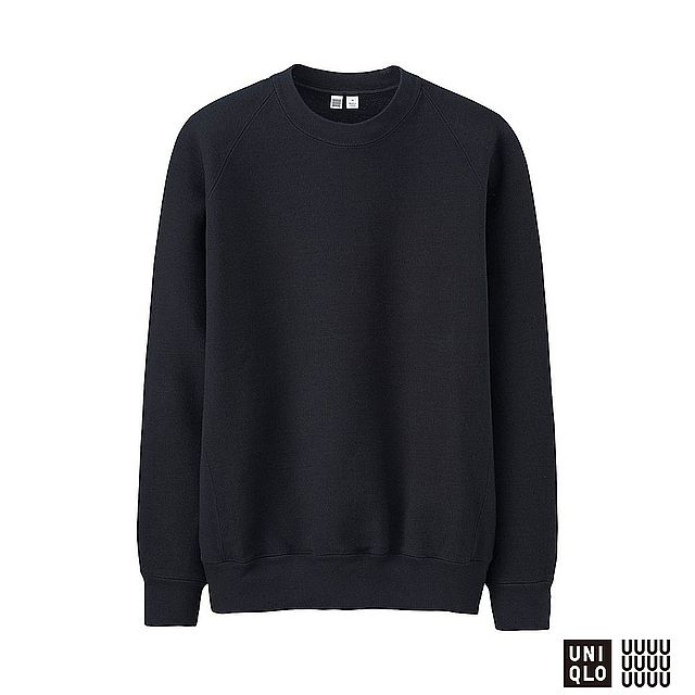 MEN UNIQLO U Heavy Weight Long Sleeve Sweat Pullover - UNIQLO UK Online fashion store