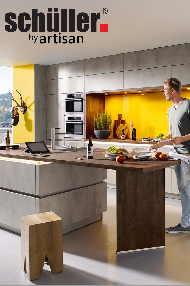 See Schuller's range of Matt Kitchens by visiting http://www.german-kitchens-cardiff.co.uk/schuller-matt-kitchens/ Shown Above: Schuller's Elba Range in the modern Concrete Quartz Grey Effect.