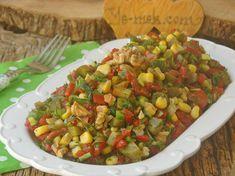 Tüm yemeklerinizin yanına alternatif olarak sunabileceğiniz, nefis bir salata tarifi...