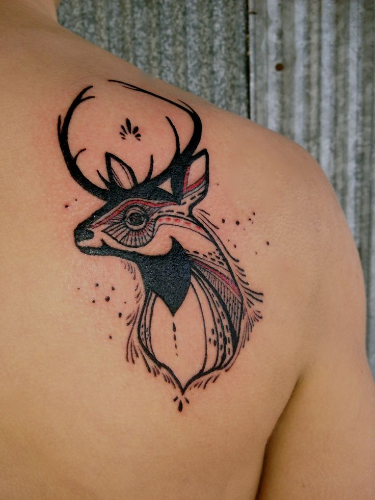 Beautiful deer tat.: Tattoo Ideas, Animal Tattoo, Awesome Tattoo, Art Tattoo, David Hale Tattoo, Tattoo Artists, Deer Tattoo Design, Body Art, Amazing Tattoo