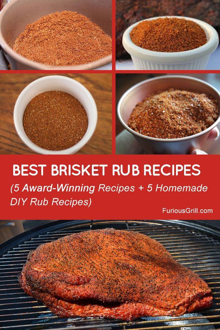 Best Brisket Rub Recipe Homemade Award Winning Recipes Brisket Recipes Smoked Brisket Rub Brisket Rub Recipe