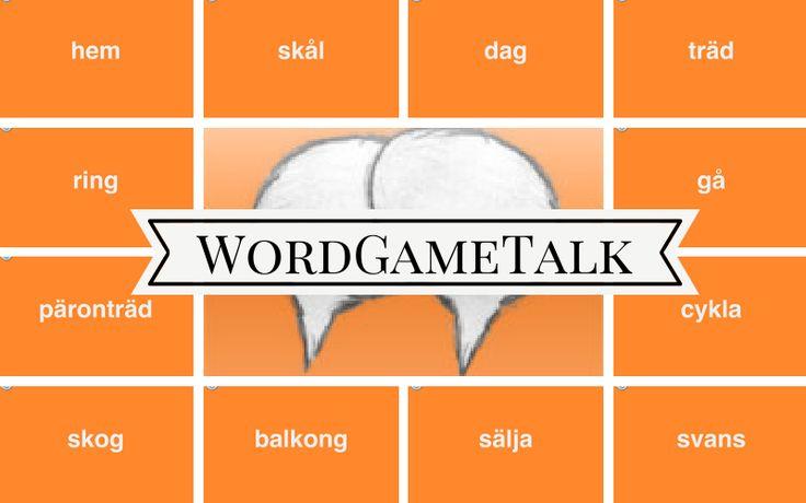 Lär dig svenska på ett roligt sätt genom appen WordGameTalk