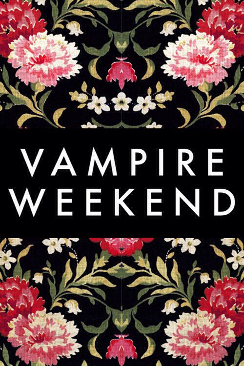 I'm sorry but if you don't like vampire weekend then what are you?