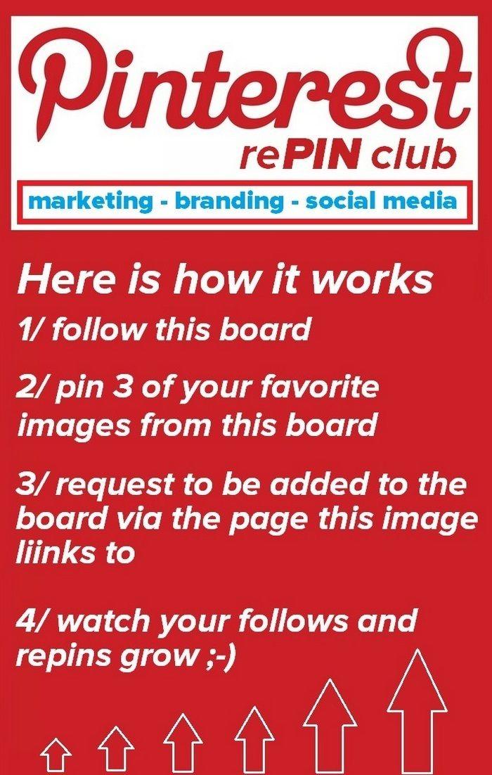 , #pinterest, #socialmedia #PinterestRepinClub #infobunny #branding #marketing