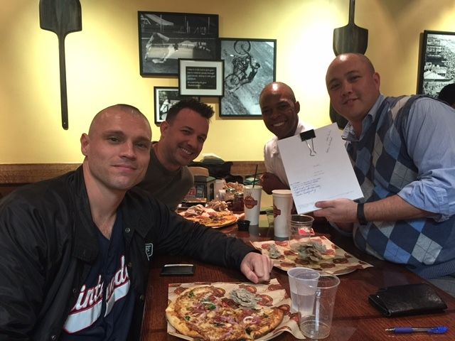 This was our very first meeting to discuss the story and script of The Bend.  Please support this amazing story with Kevin Nash, Tom Sizemore, & Henriett Novak!  Please back us today!!  Thank you!!