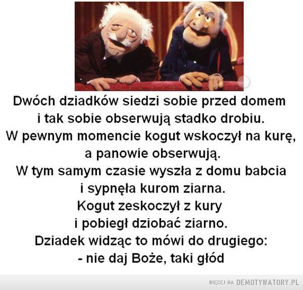 Dwóch dziadków... –