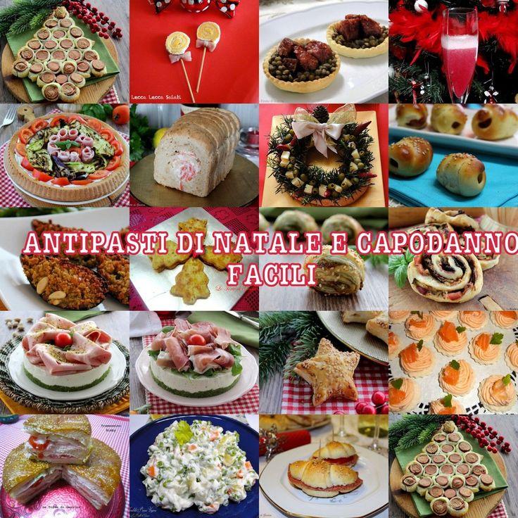 Raccolta di ricette du antipasti di Natale e Capodanno facili e veloci. Tante sfiziosità per le Feste da preparare velocemente, anche per i meno esperti