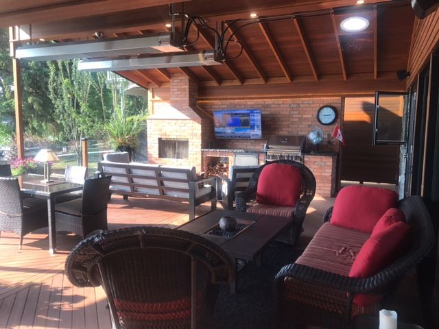 Ultimate outdoor living with Red Balau Batu supplied by Kayu Canada.