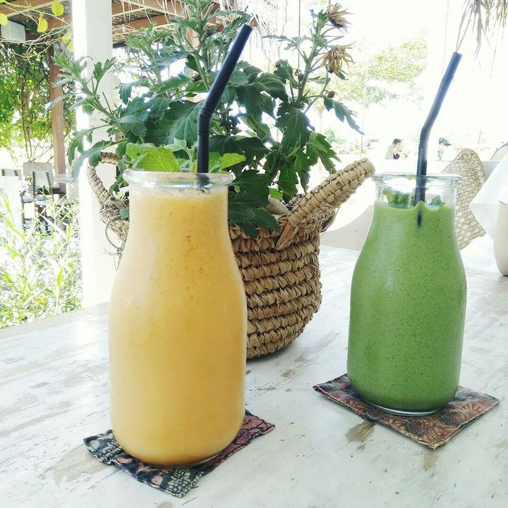 And don't forget to try @nook_bali health booster juice.