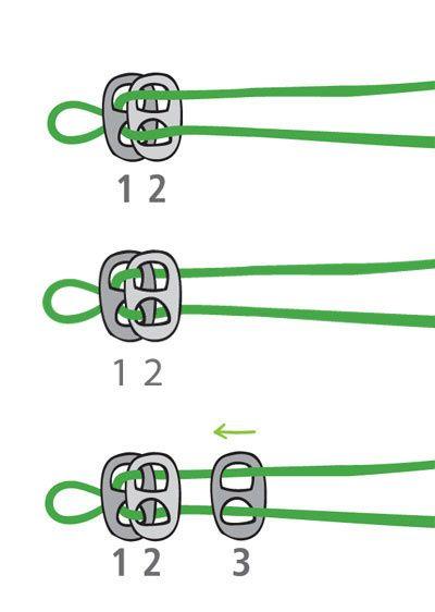 Make a bracelet or belt using beer can pull tabs. Nice tutorial