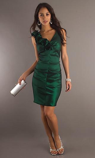 Short Semi Formal Dress X-XS438