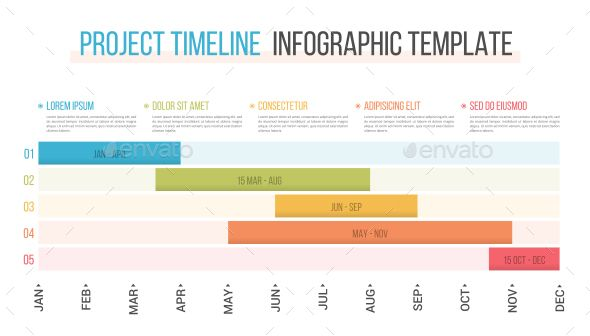 Project Timeline Infographic Templates Project Timeline