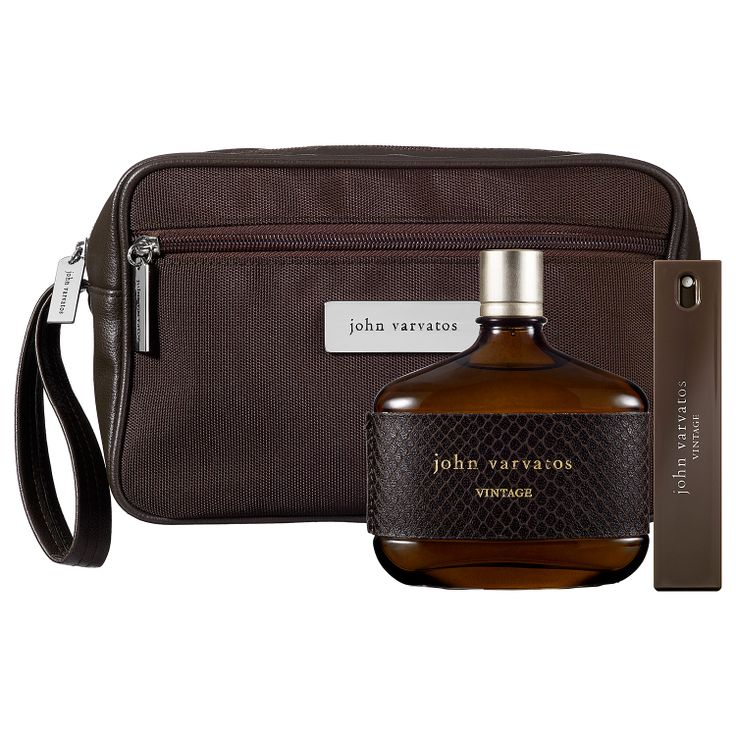 John Varvatos Vintage Gift Set - I love the smell of this cologne