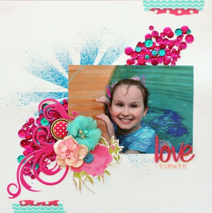 Chloe's Creative Corner. Burdy's Embellies button top