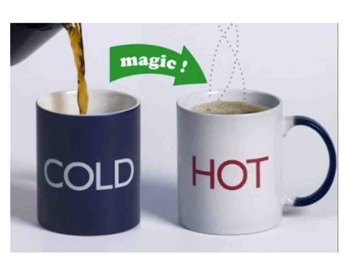 Check out these magic mugs, great fun and great gift ideas.