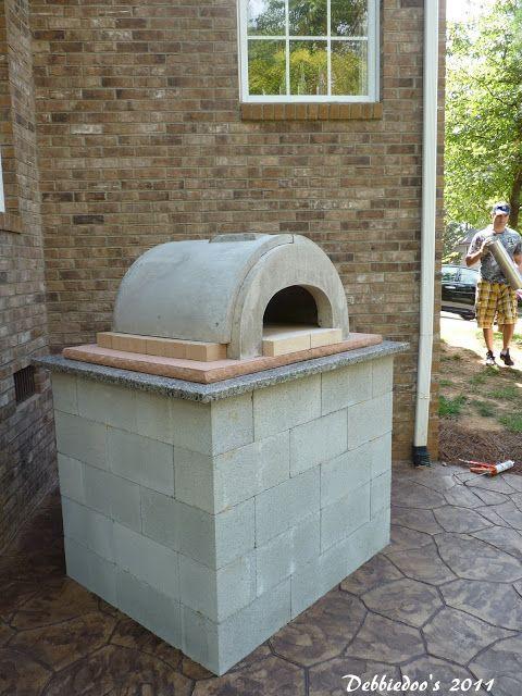 13 best images about cinder blocks on pinterest outdoor for Garden ovens designs