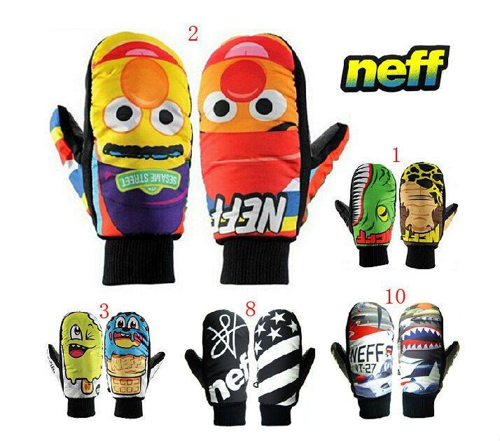 Neff marque hiver gants de Ski étanche pour Snowboard unisexe thermique gants de Ski gants Snowboard Glove10Color taille : XS S M L XL