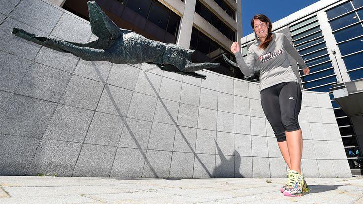 #D'obèse morbide à marathonienne - Canoë: Canoë D'obèse morbide à marathonienne Canoë La vie de Marie-Ève Bergeron a pris un virage à 180…