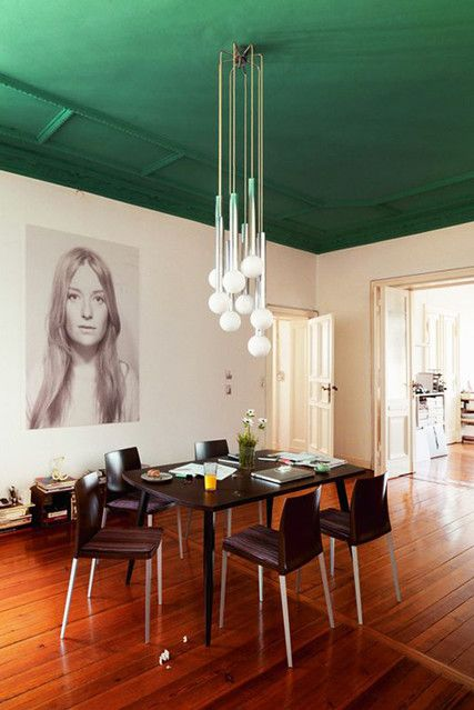 Pop Of Color - These Painted Ceilings Are Giving Us Life - Photos