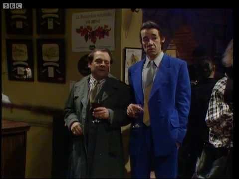 Only Fools and Horses - Delboy falls through the bar
