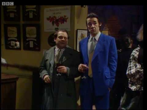 Only Fools and Horses - Delboy falls through the bar