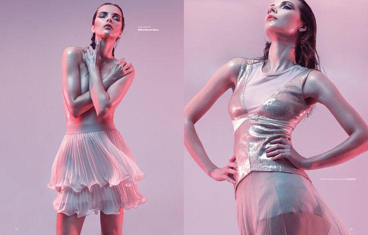 Revista Mujer  fotografía Paola Velásquez  asistentes fotografía Edo García & Lore Provoste  estilismo Claudia Illanes  maquillaje y pelo Melanie Tetzner  modelo Sanja (WLM)