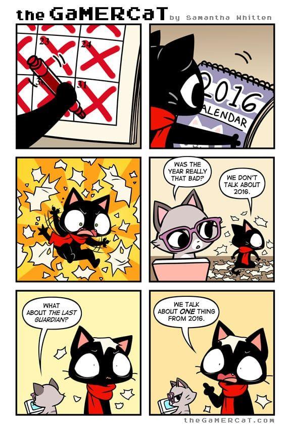 the GaMERCaT :: Year in Review | Tapastic Comics - image 1