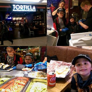 A review of the gorgeous Tortilla restaurant in Nottingham - from the kids point of view!