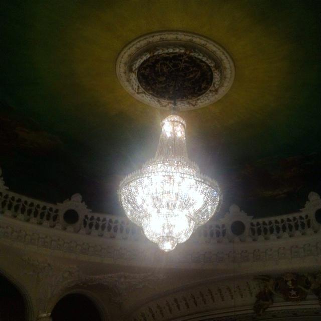 Chandelier @ Teatro Municipal de Santiago