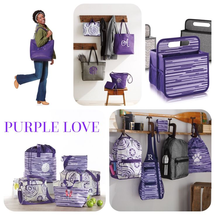 PURPLE LOVE Thirty-One Gifts Party with Whitney www.mythirtyone.com/whitneyedge
