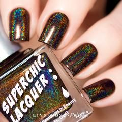 Swatch of SuperChic Awesome Sauce Nail Polish (Urban Dictionary Collection)