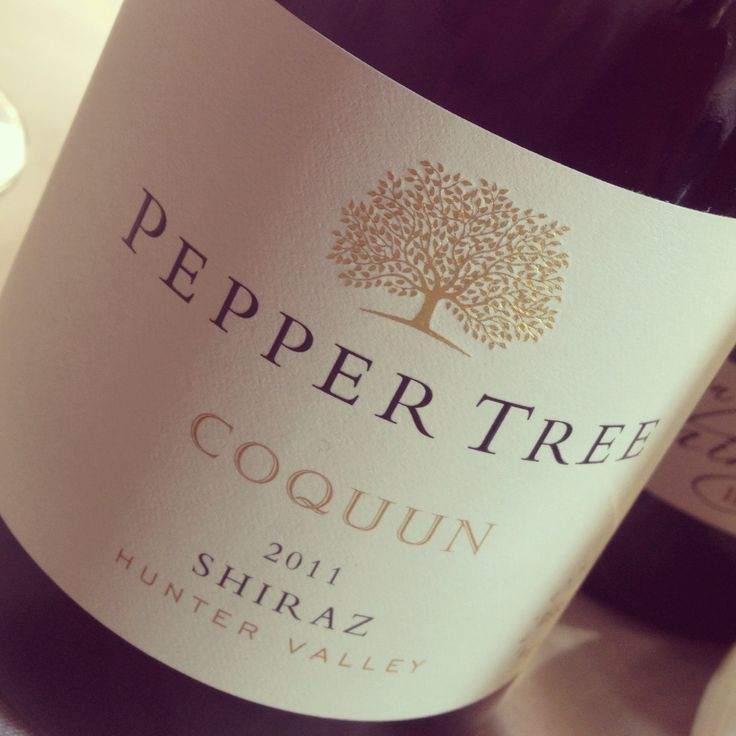 Great hunter valley wine from Pepper Tree