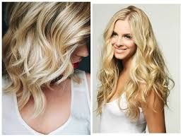 Image result for balayage blonde before and after