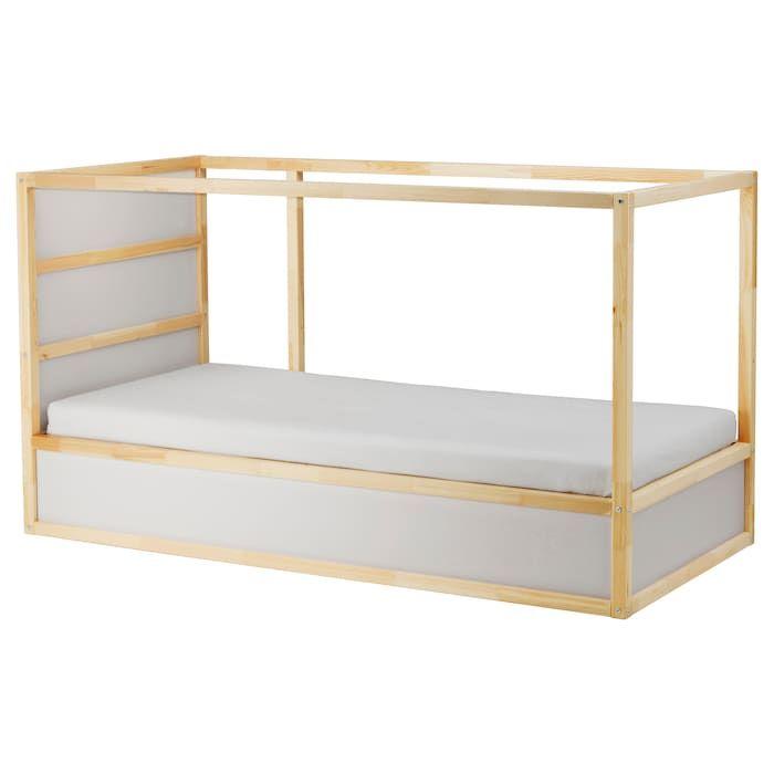 Kura Bett Umgedreht Wird Es Zum Hochbett Ganz Flexibel Ikea Osterreich Ikea Bed Loft Bed Frame Ikea Kura Bed