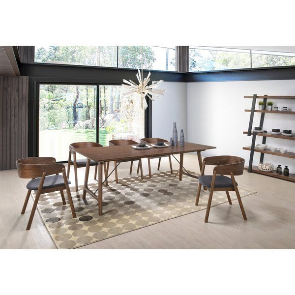 Bourges 5 Piece Pub Table Set Midcentury Modern Dining Table