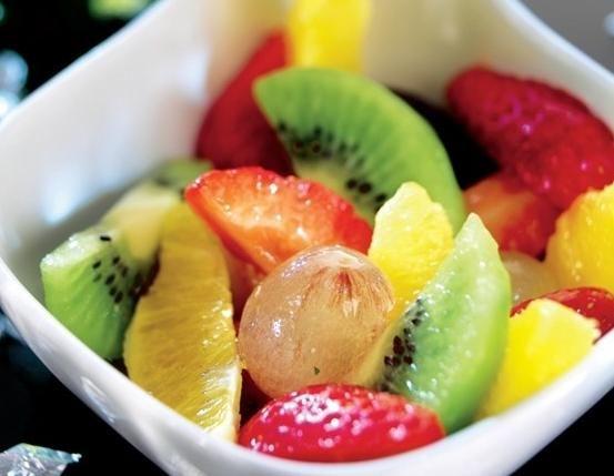 Macedonia de invierno #frutas
